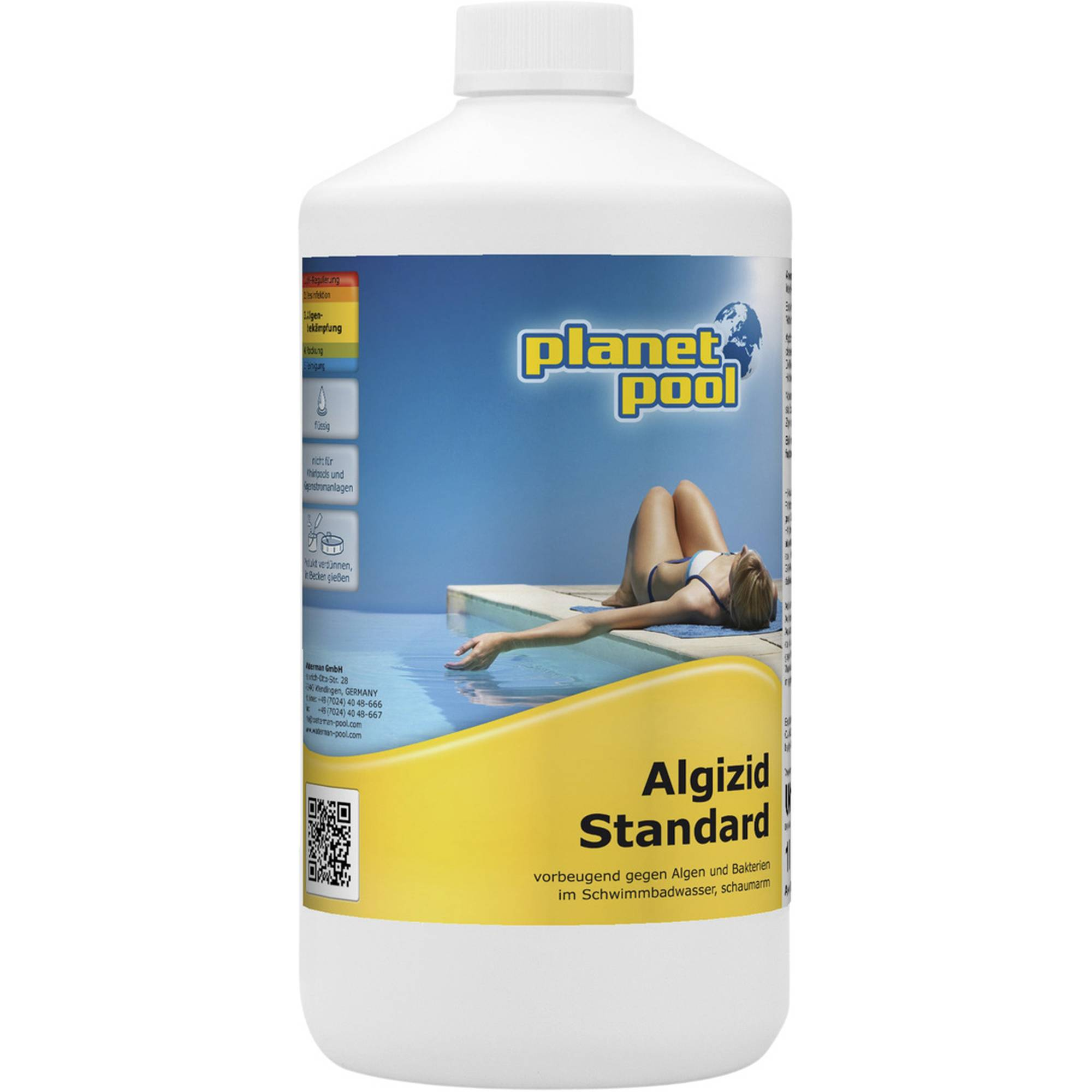 PLANET POOL Algizid Standard 1 Liter