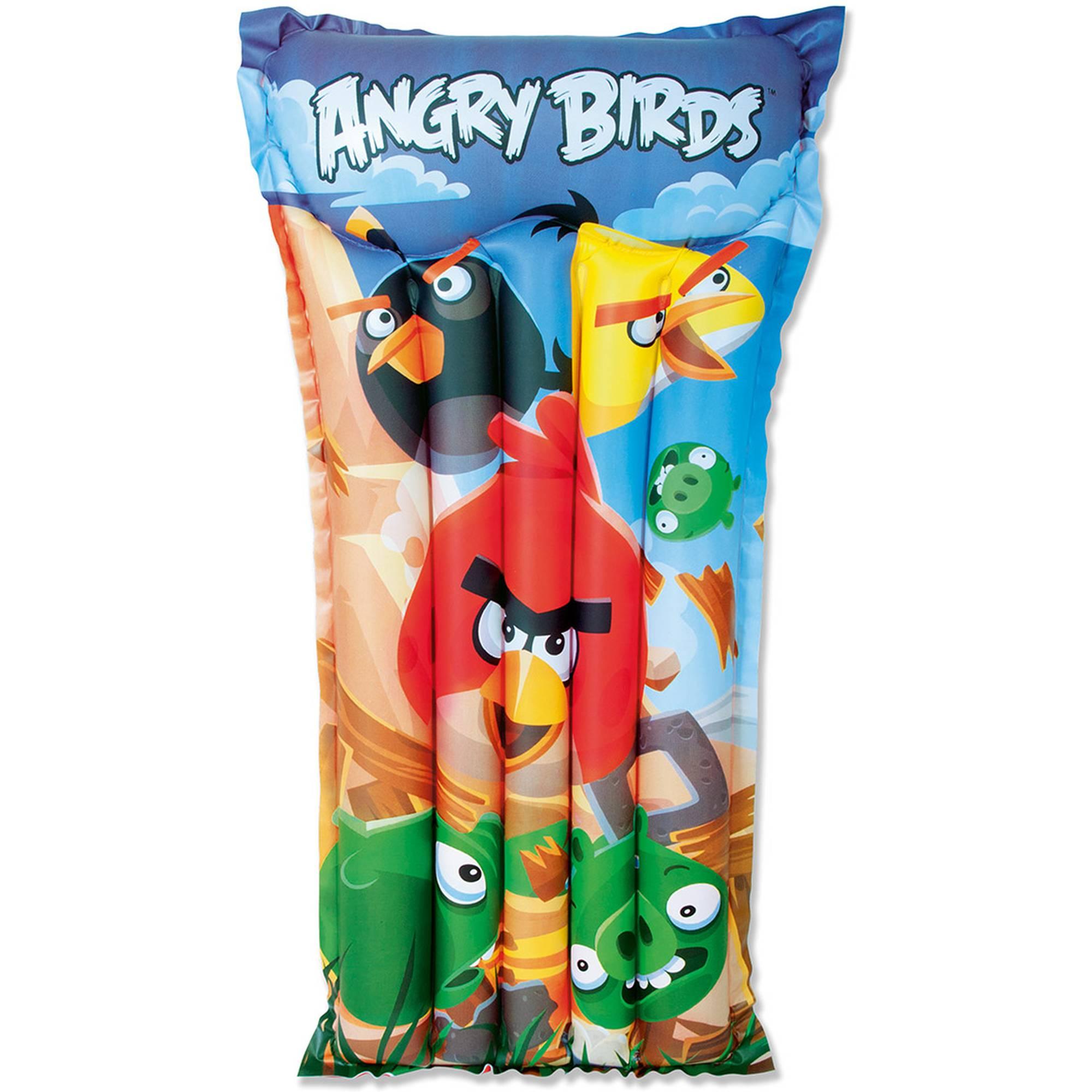 Bestway 96104 Kinder Luftmatratze Angry Birds 119x91 cm