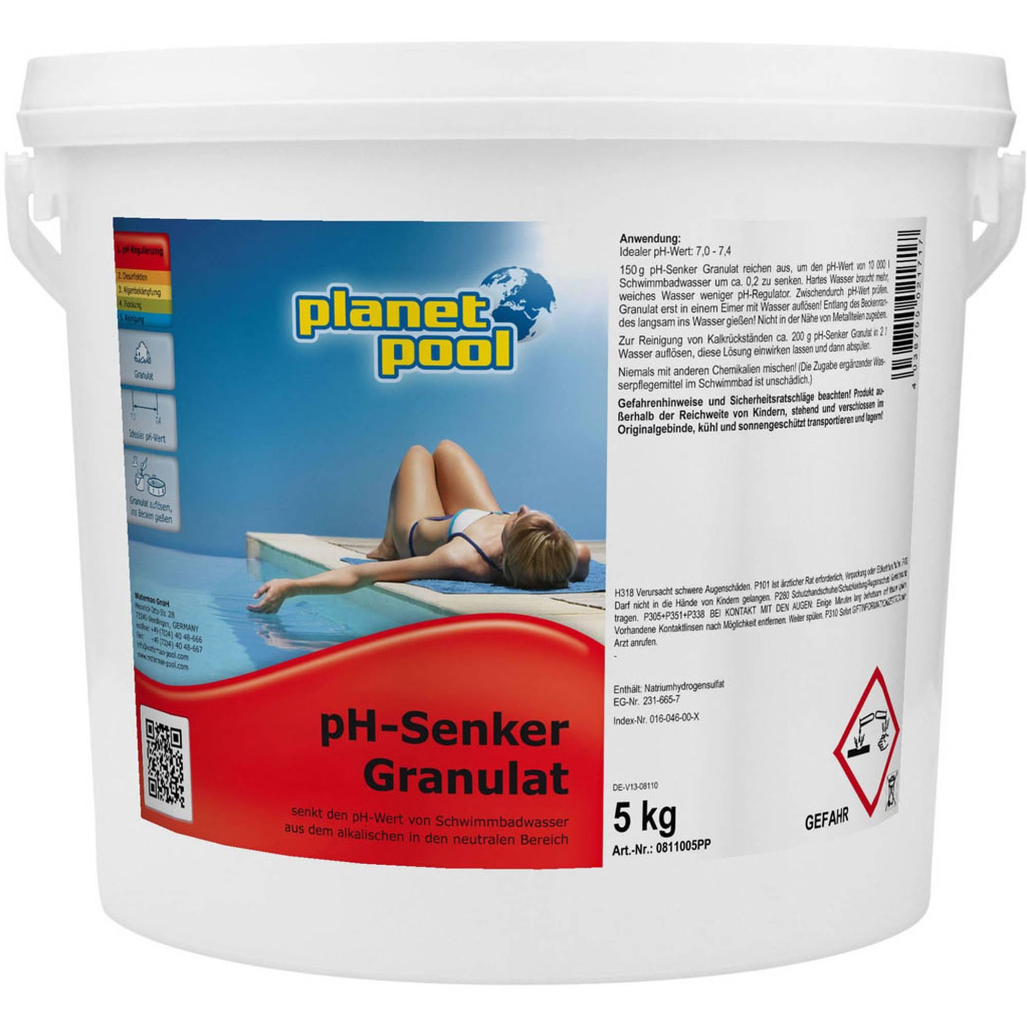 PLANET POOL pH-Senker Granulat 5 kg