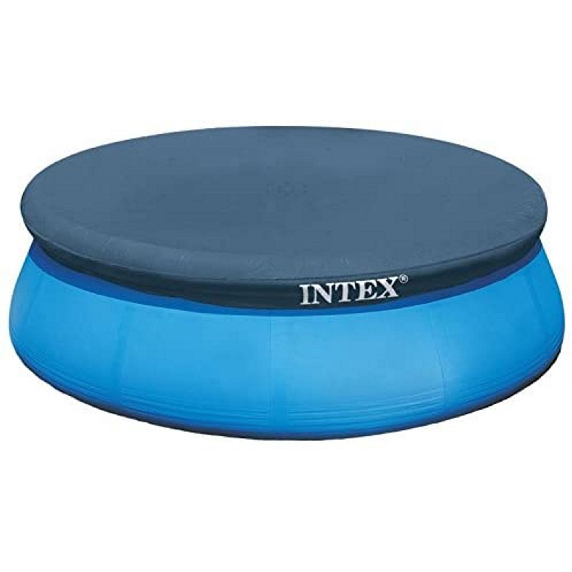 Intex 28021 Easy Set Pool-Abdeckung Ø2,84 m für Ø 3,05m