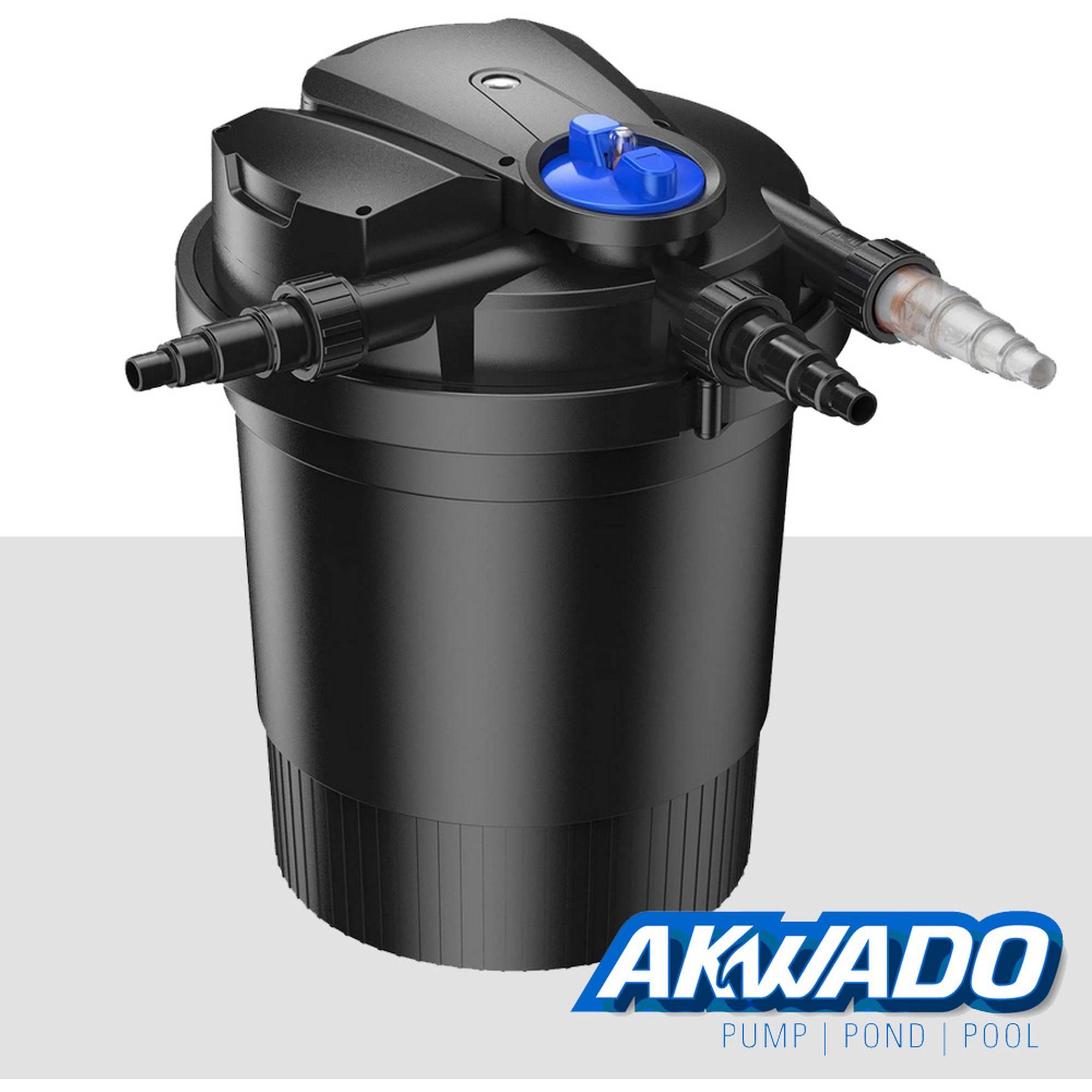 SunSun CPA-15000 Druckteichfilter mit integrierter UVC Einheit 18W für Teiche bis 30000 Liter
