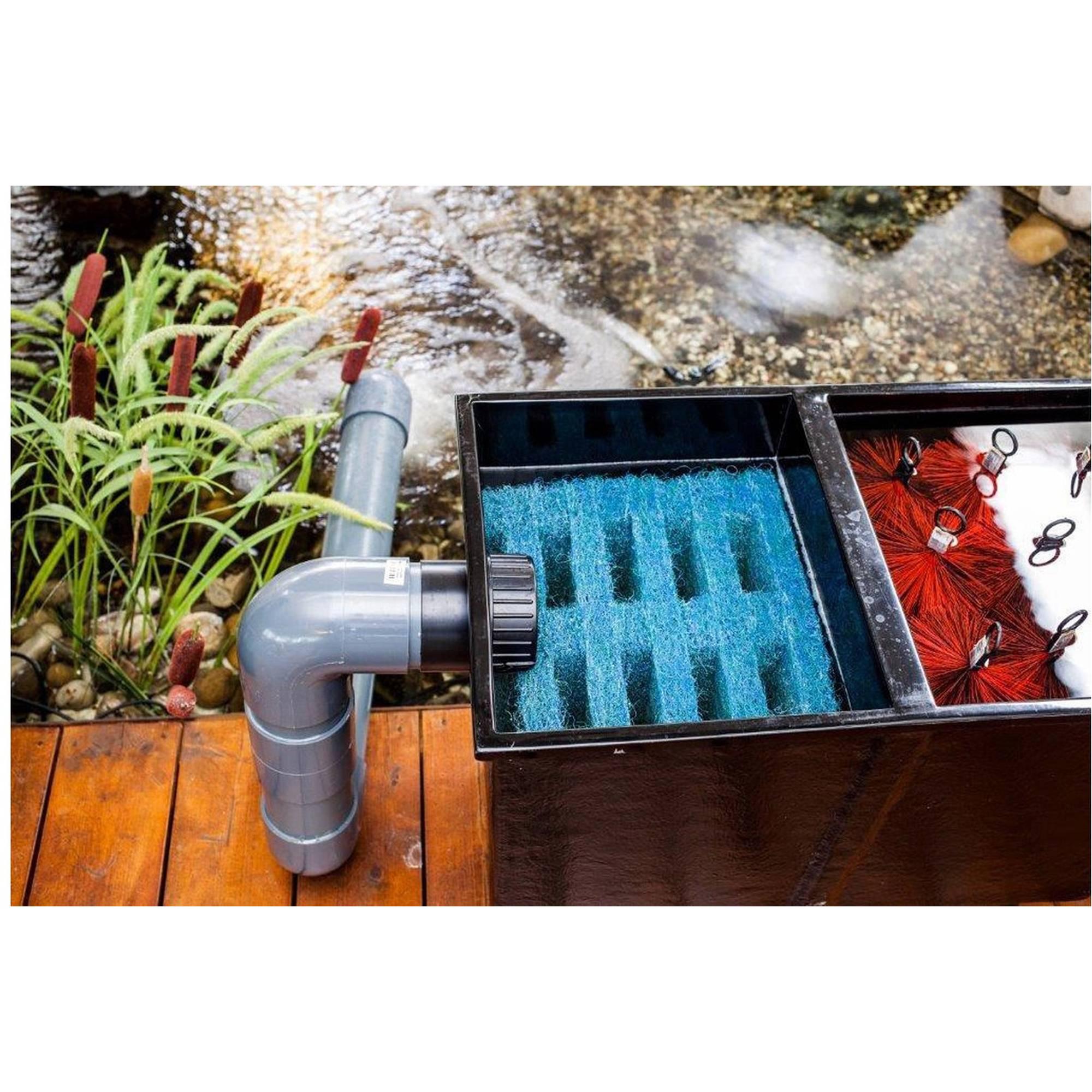 Teichfilter APOLLO XXL mit Vortex und 3 Filterkammern, bestückt