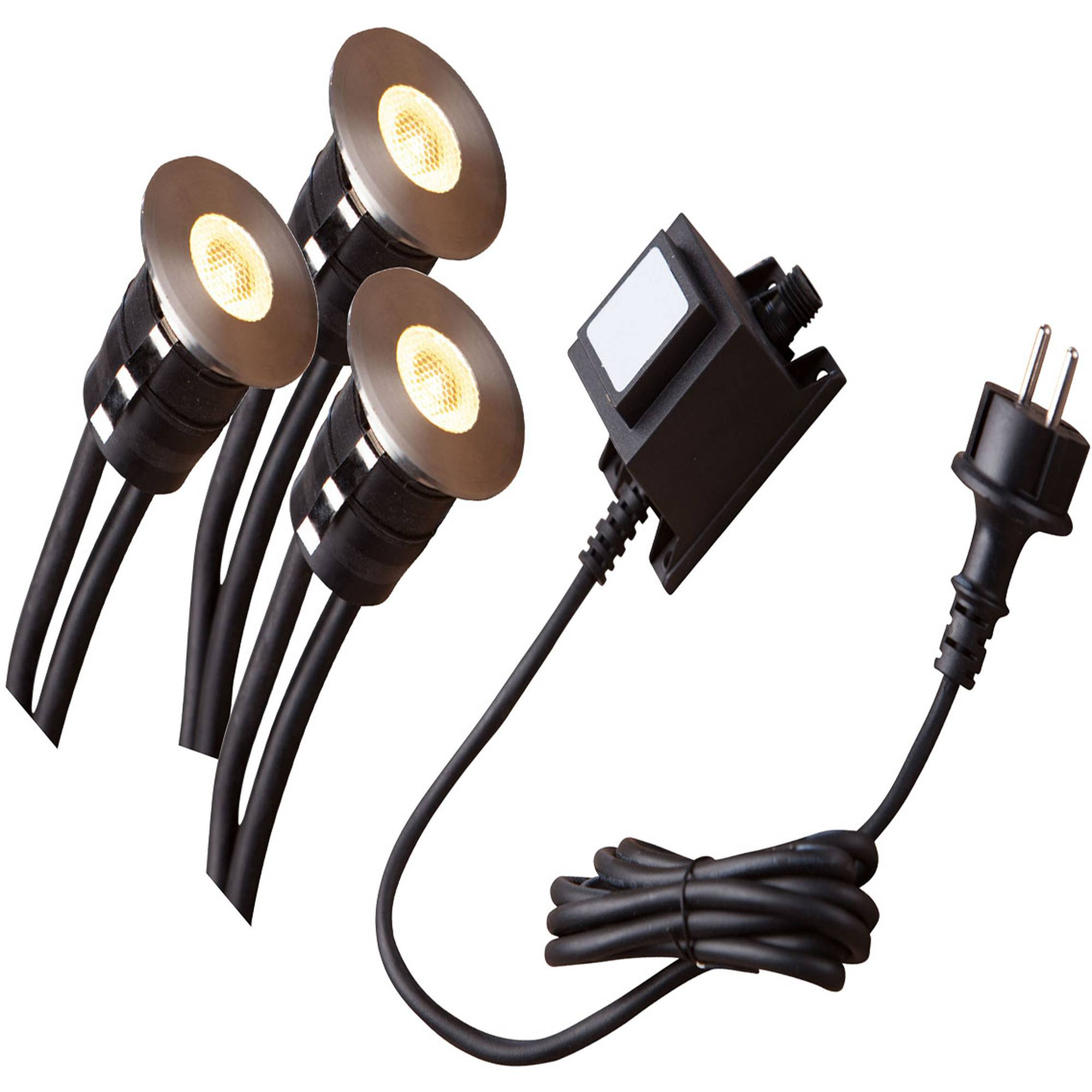 Heissner L450-00 LED Smart Light Bodeneinbau Spot Starter-Set Decklights