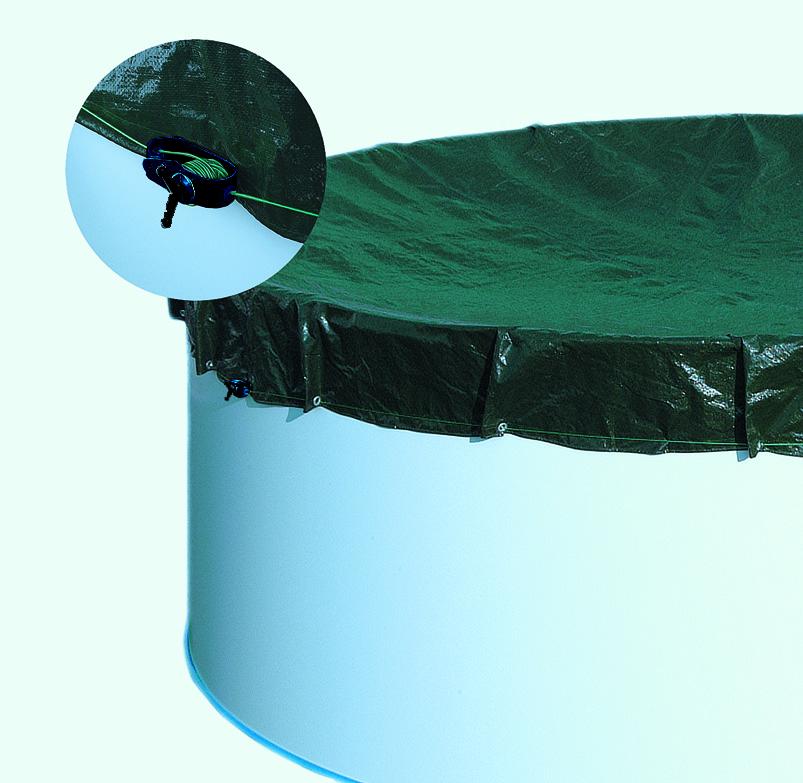 Extra-Abdeckplane rund für Becken 360cm