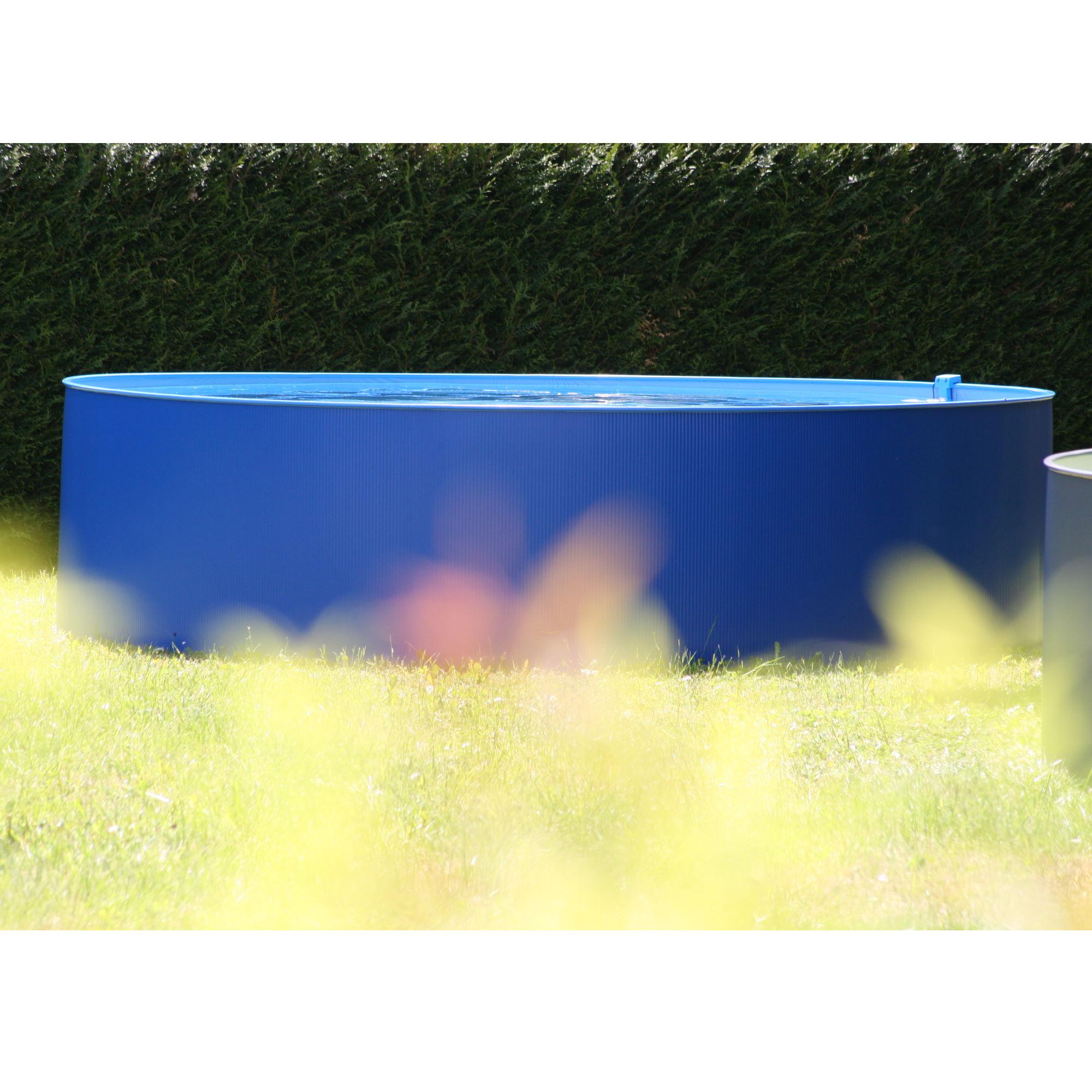 Rundbecken 300x90cm BLAU (SW:0,3;IH:0, blau) overlap S0
