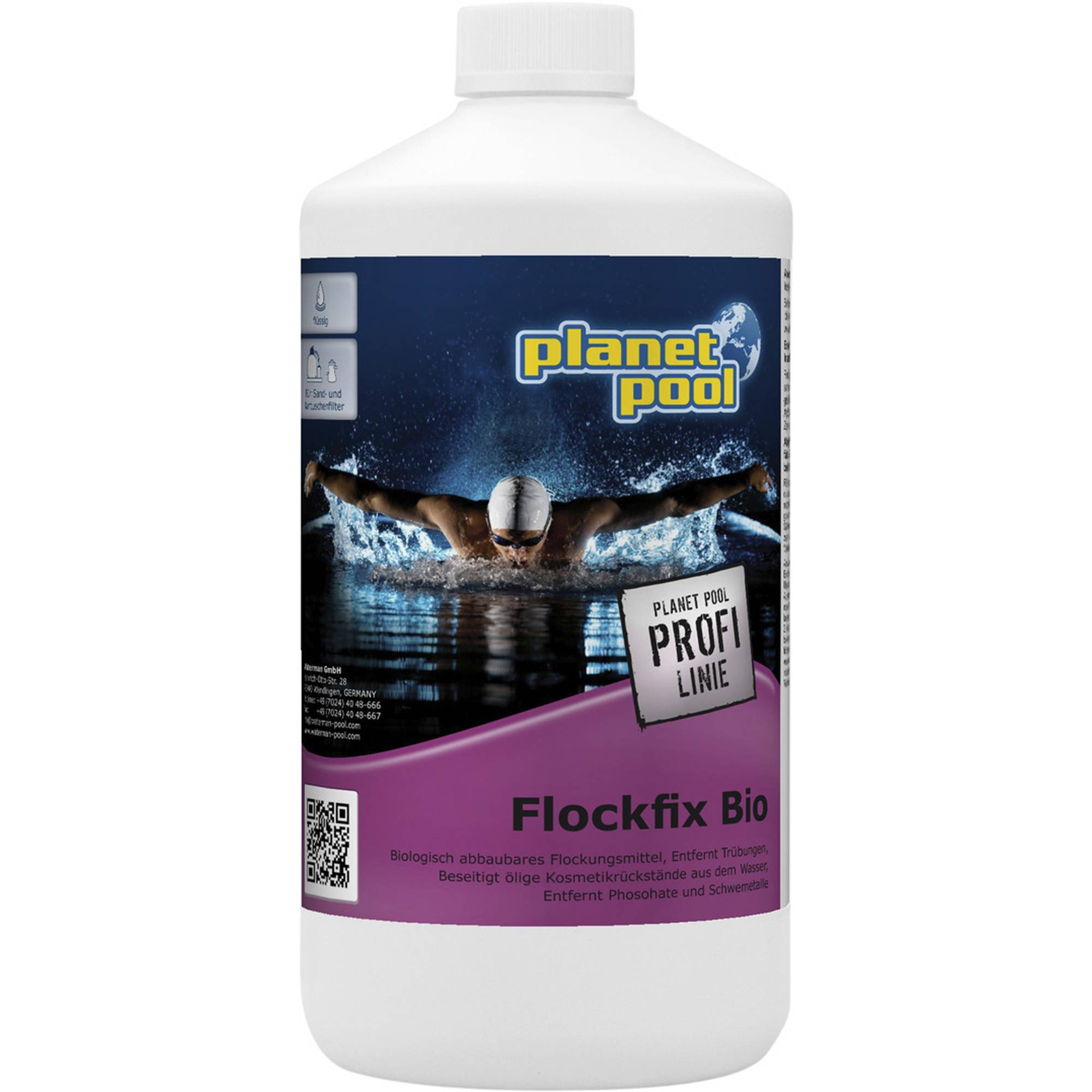PLANET POOL - Profi Linie    Flockfix Bio 1 Liter