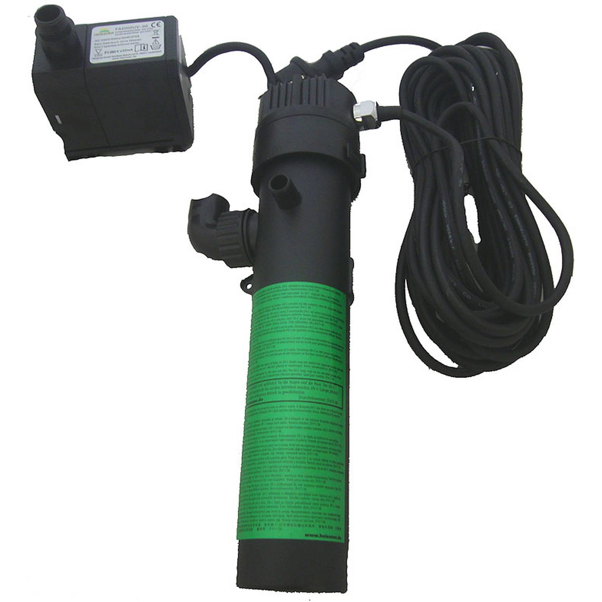 Pumpenmotor und UVC - Klärer