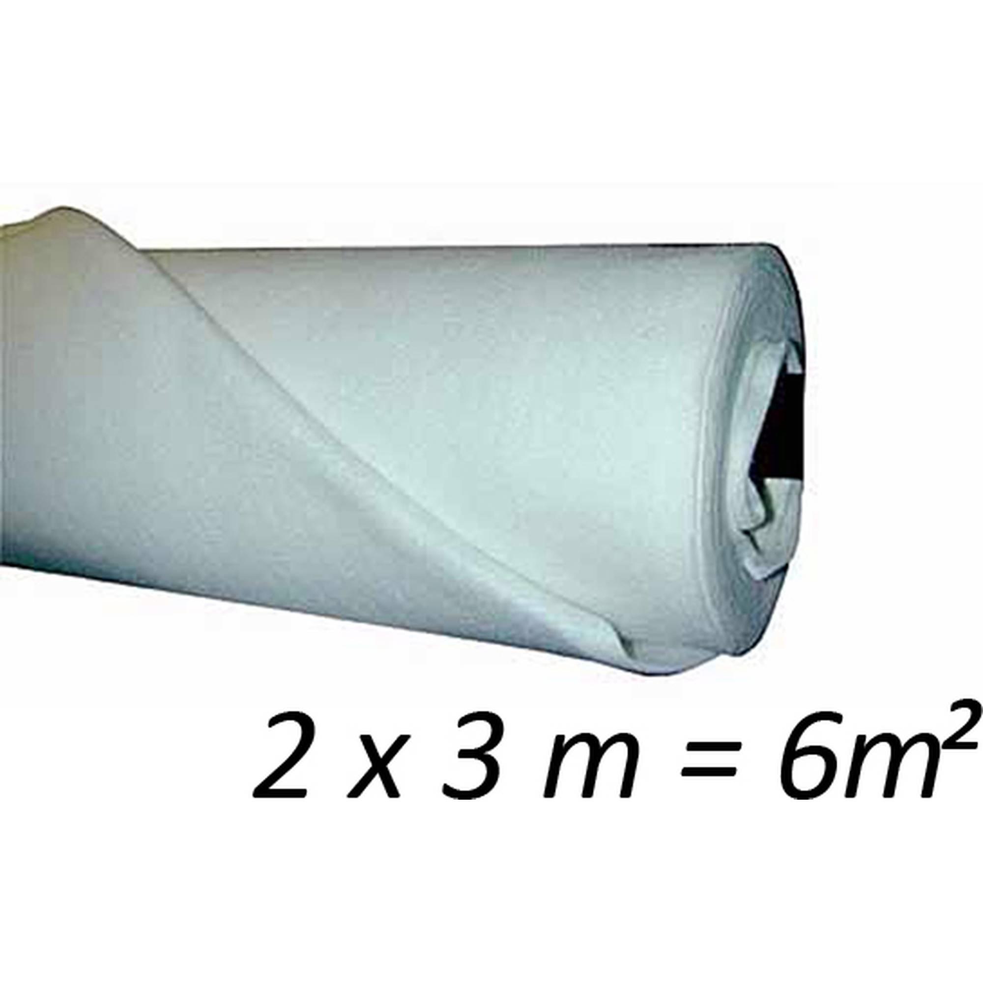Teichvlies für den Teichbau 2 x 3 m, 200g/m²