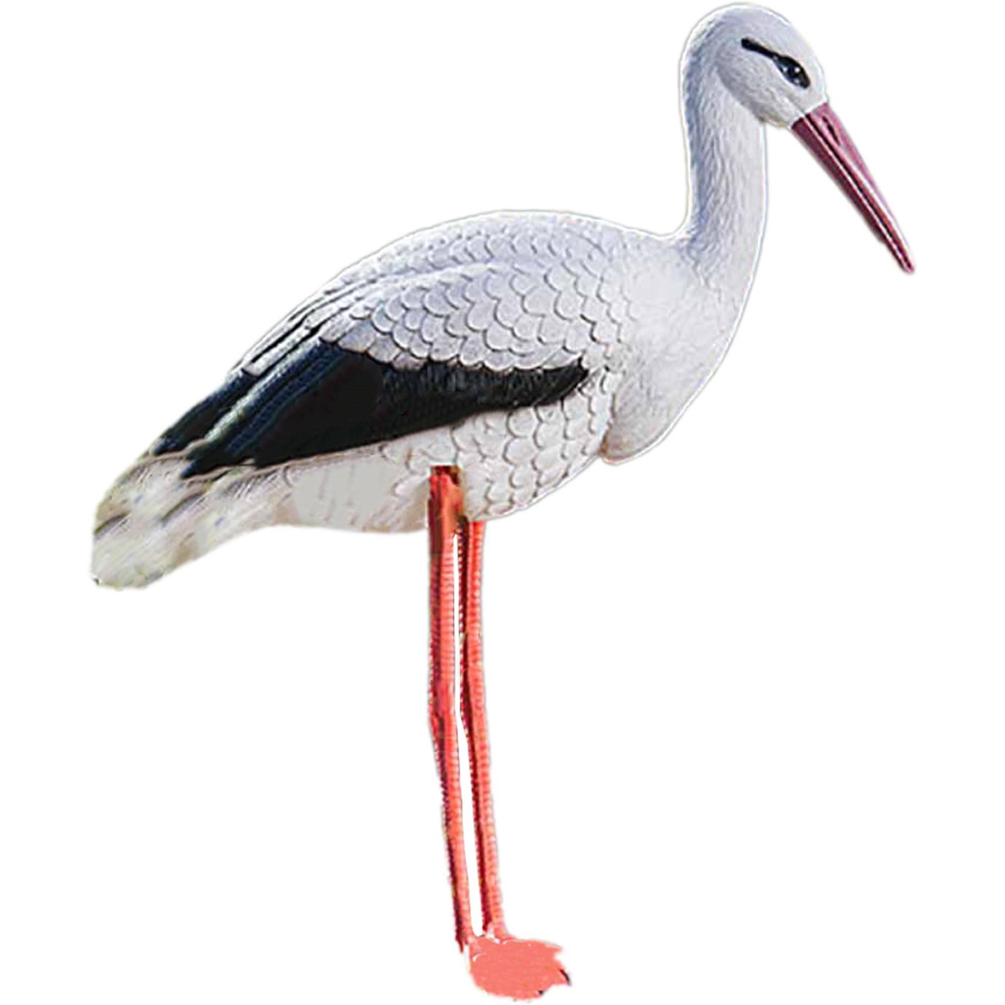 Teichfigur Storch