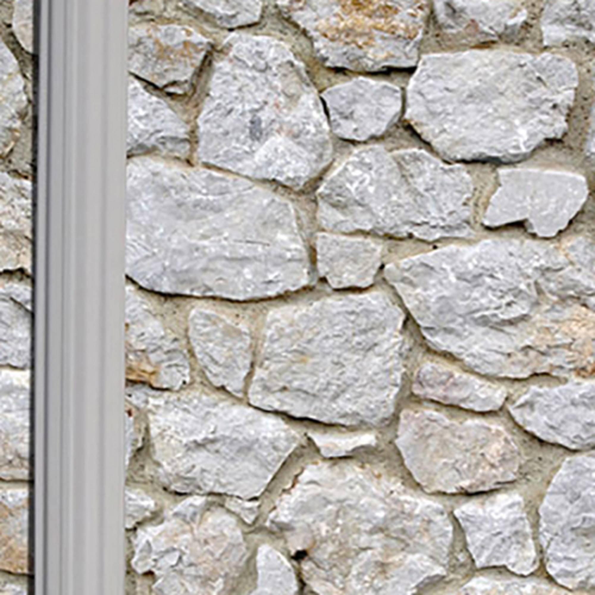 Ovalformbecken-Set 610 x 375 x 120 cm Steinoptik
