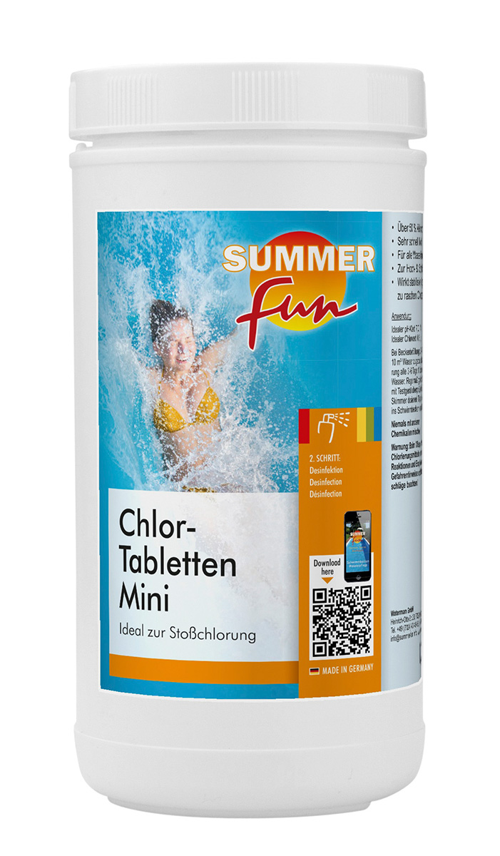 Chlor - Tabletten Mini 1,2 kg