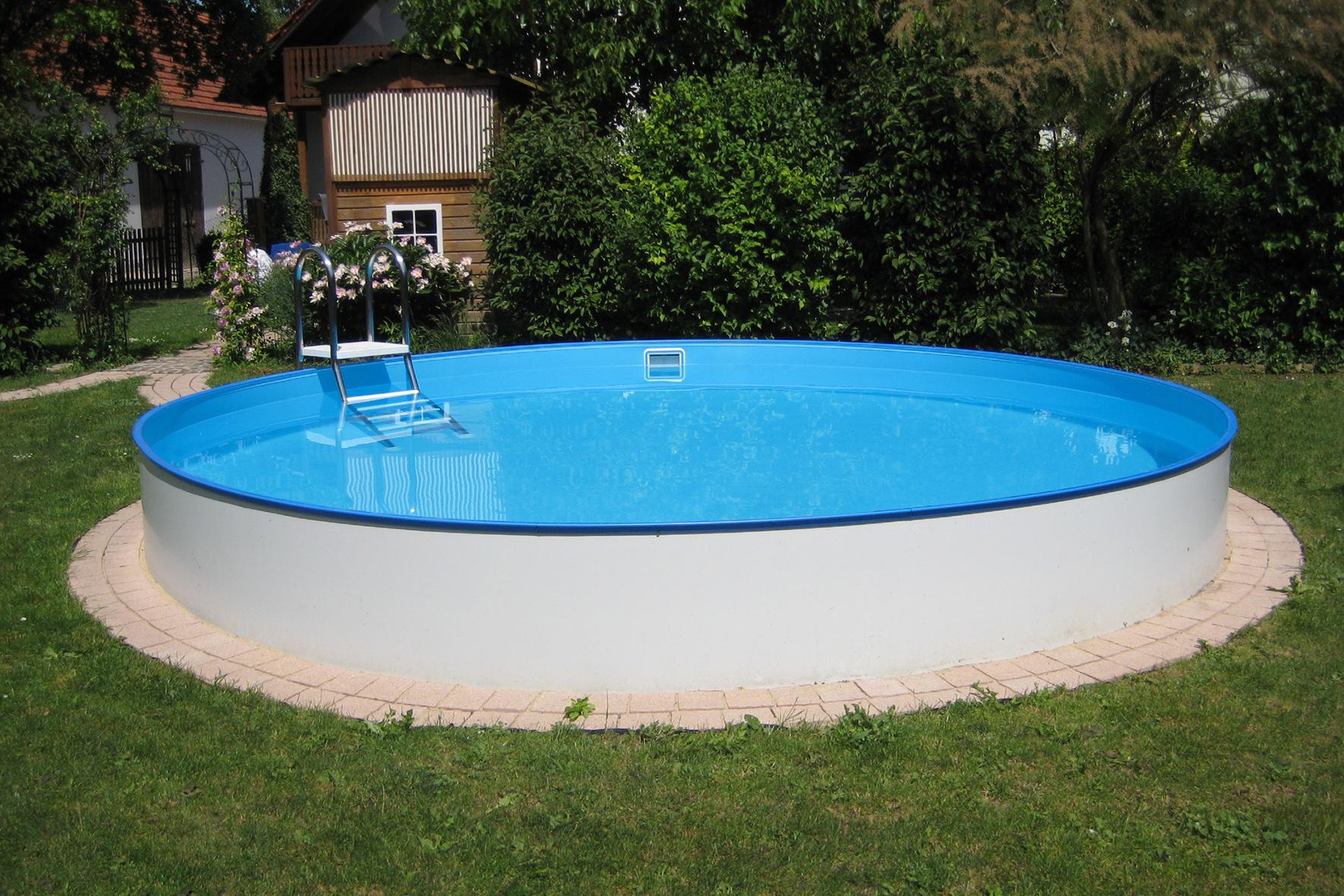 Planet Pool Rundbecken Exklusiv Ø 200x120cm (SW:0,6 IH:0,6)
