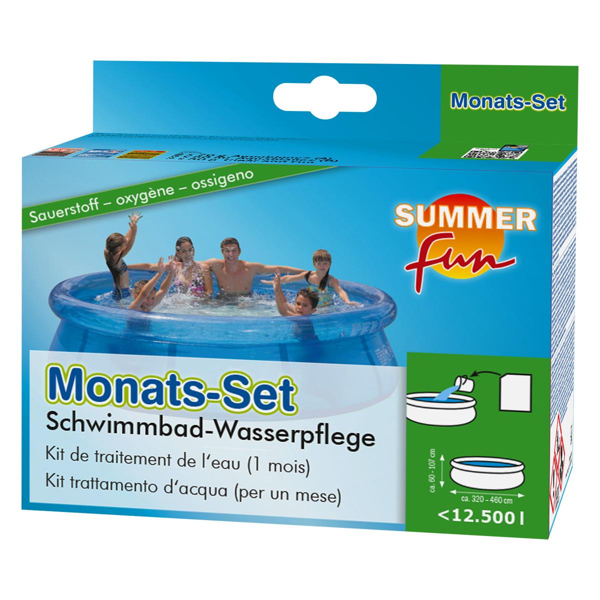 Monatsset Sauerstoff - Die passende Poolpflege von Summer Fun
