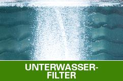 Unterwasserfilter für Gartenteiche