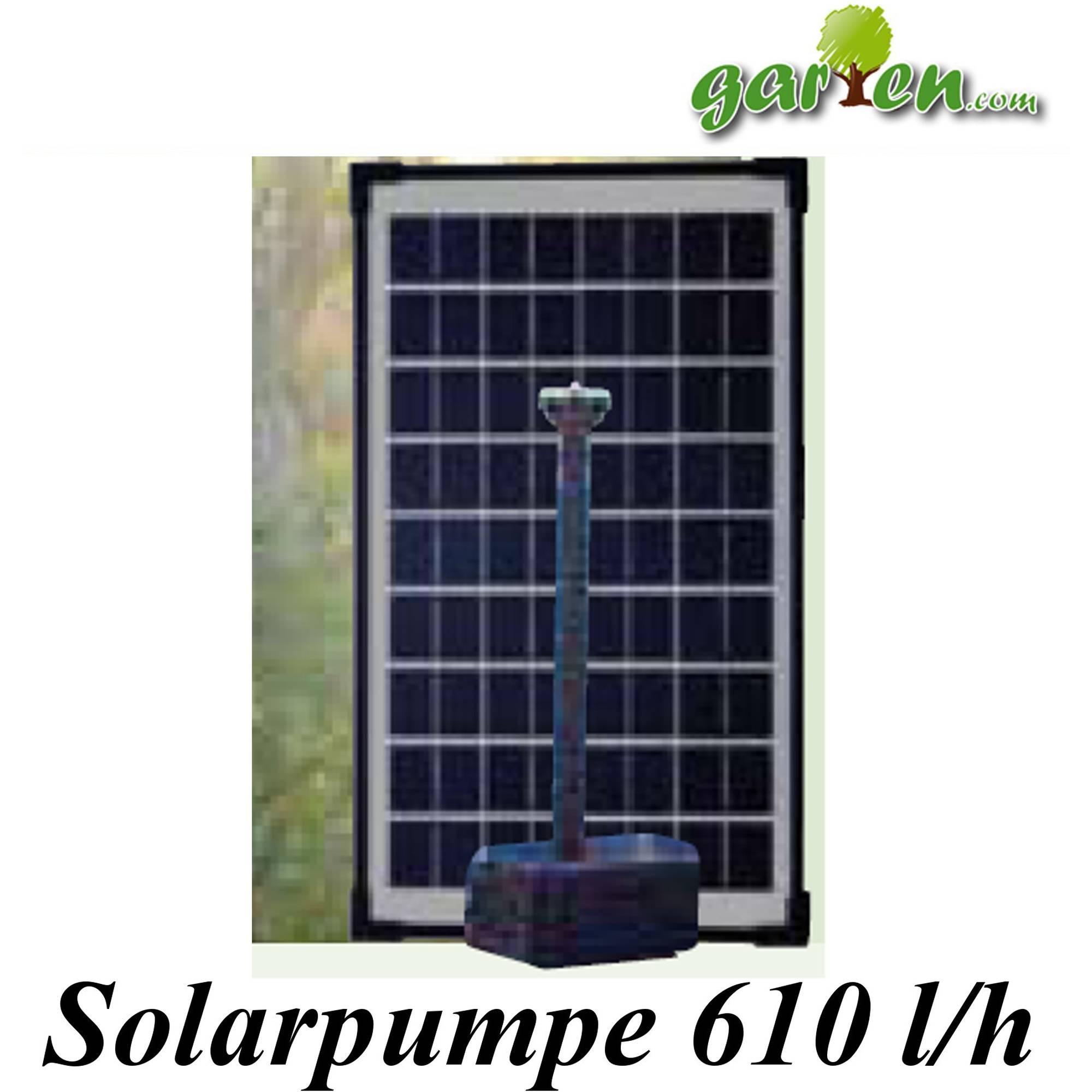 Pumpen Set Solar 610l/h von Heissner