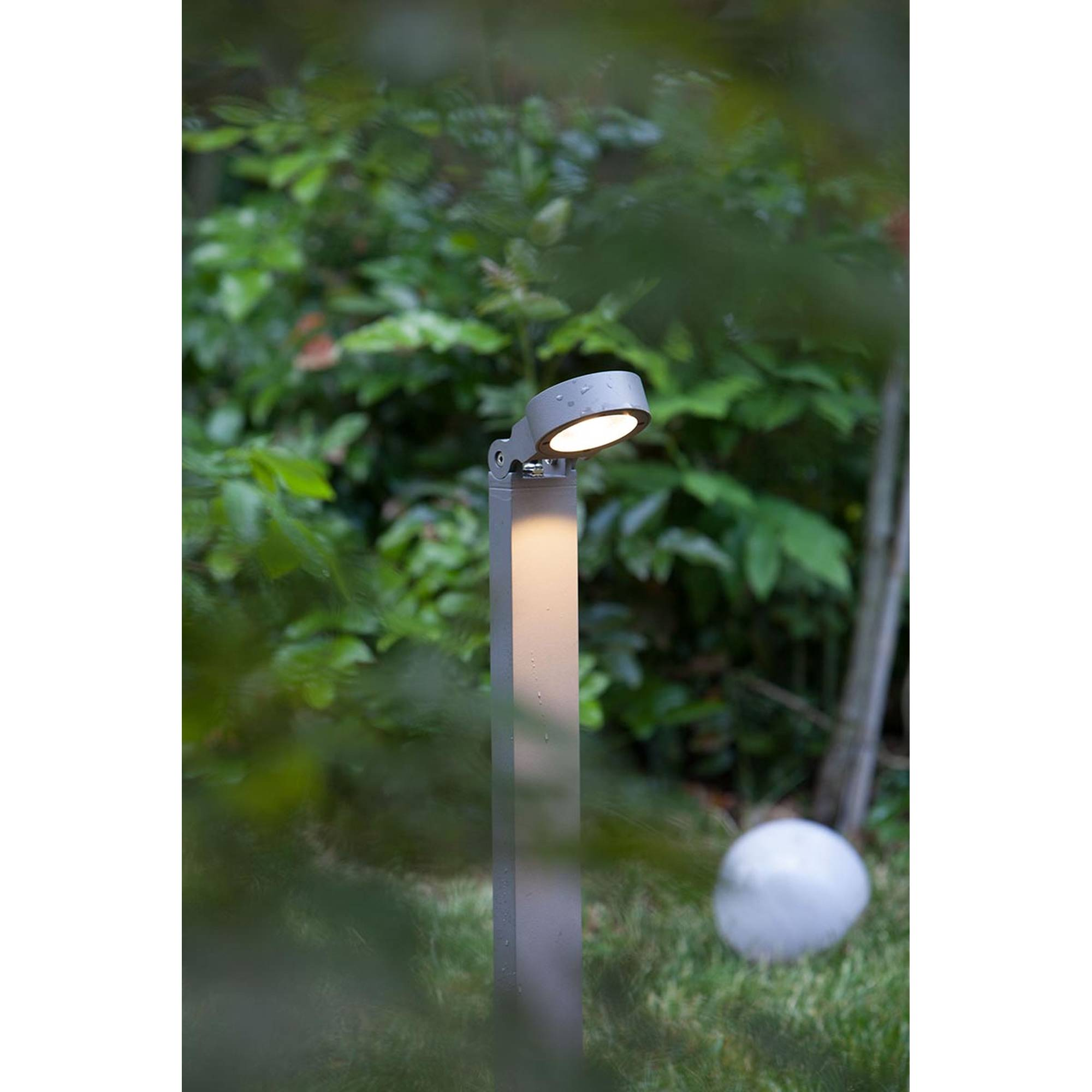 Heissner L475-00 Teichufer und Poolrand Lampe 5 Watt gold