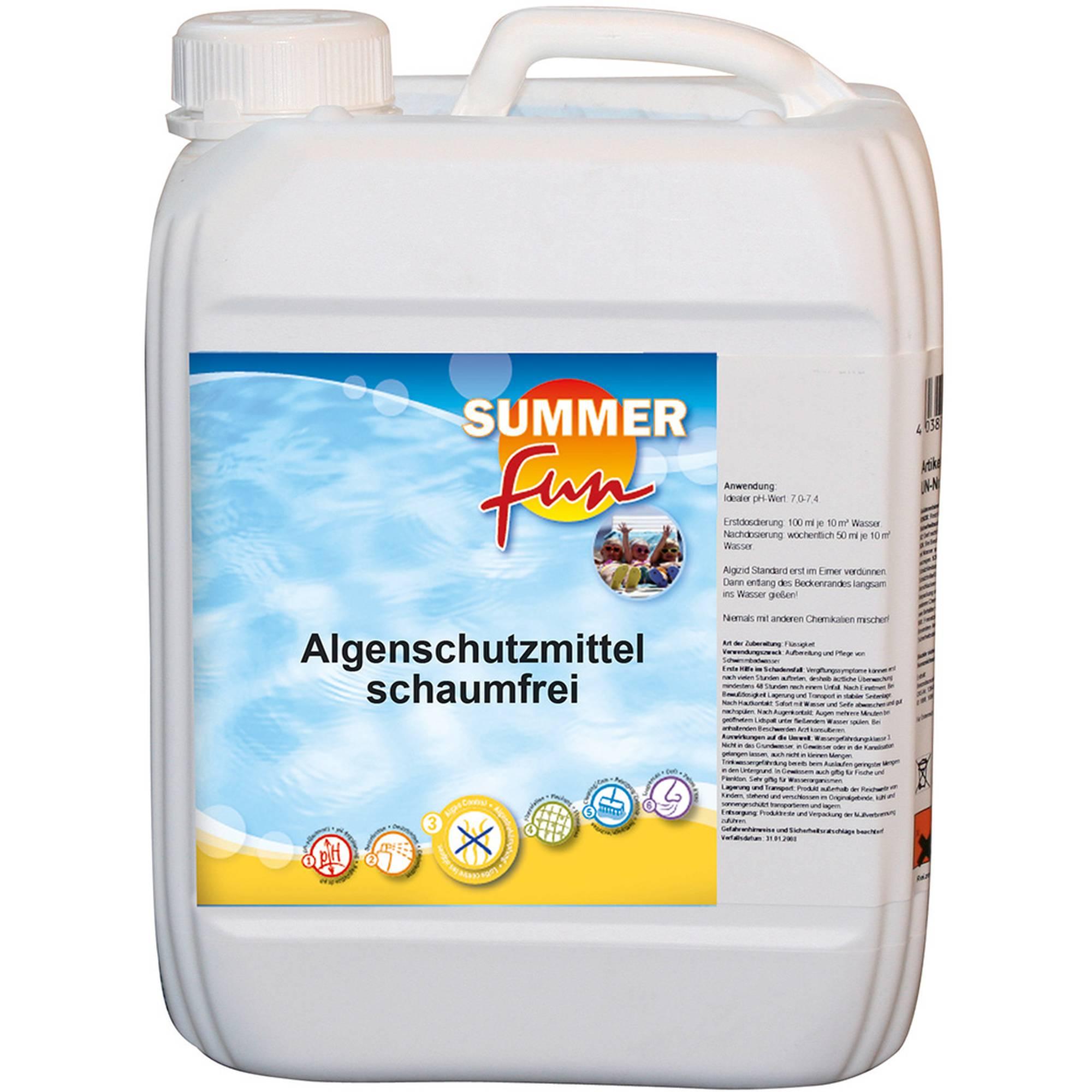 Summer Fun Algenschutzmittel schaumfrei 5 l