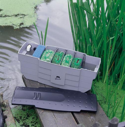 Teichfilter zum Reinigen