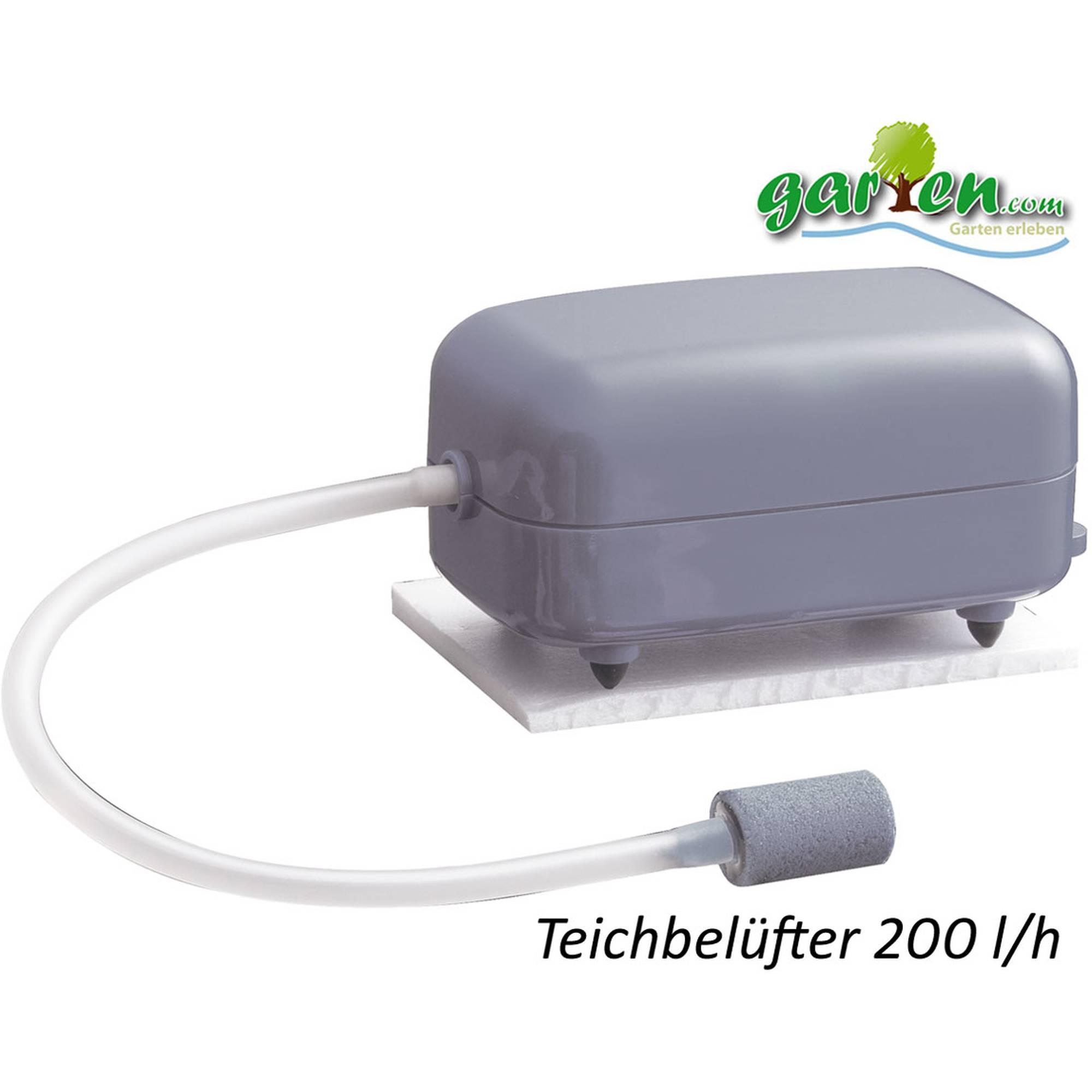 Teichbelüfter Belüfter-Pumpe von Heissner