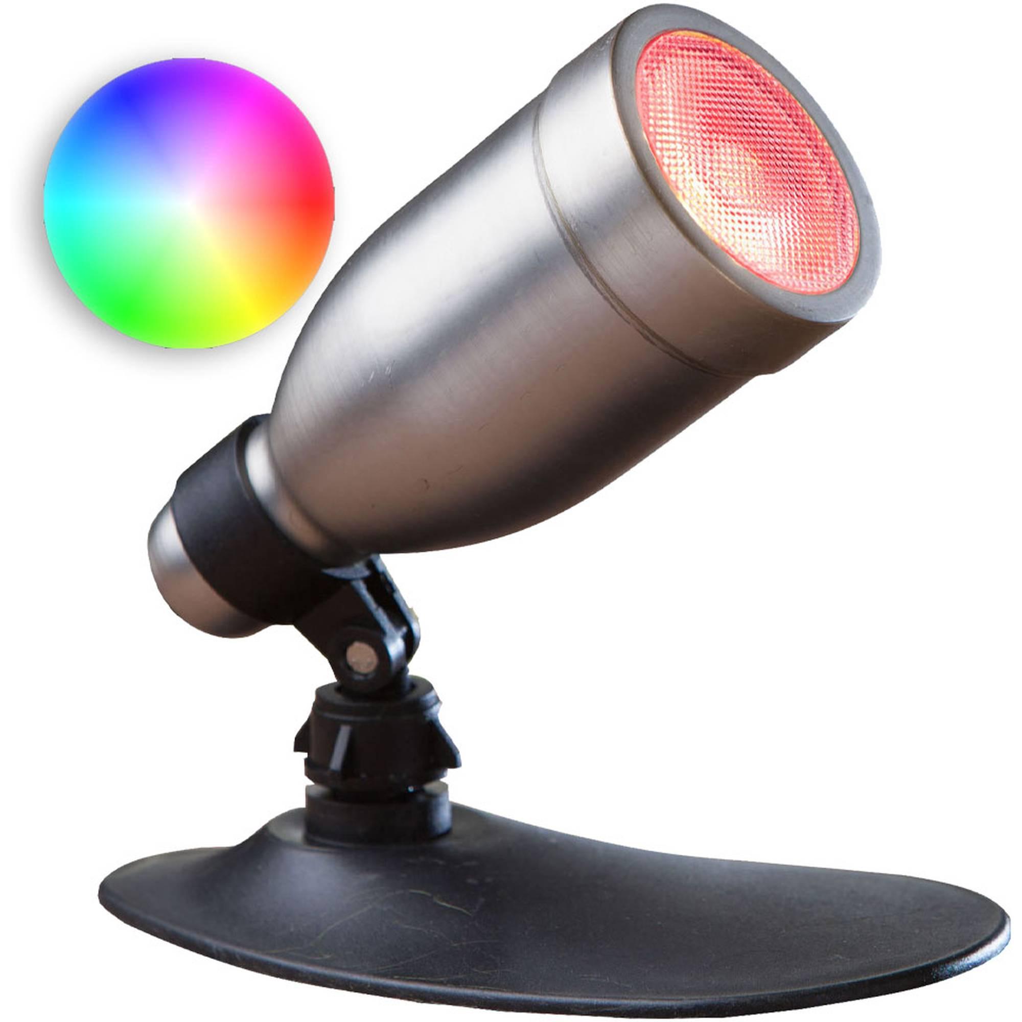Heissner L439-00 LED Smart Light RGB Spot 9 Watt silber