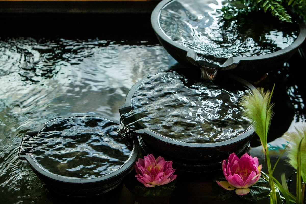 Gartensortiment Brunnen