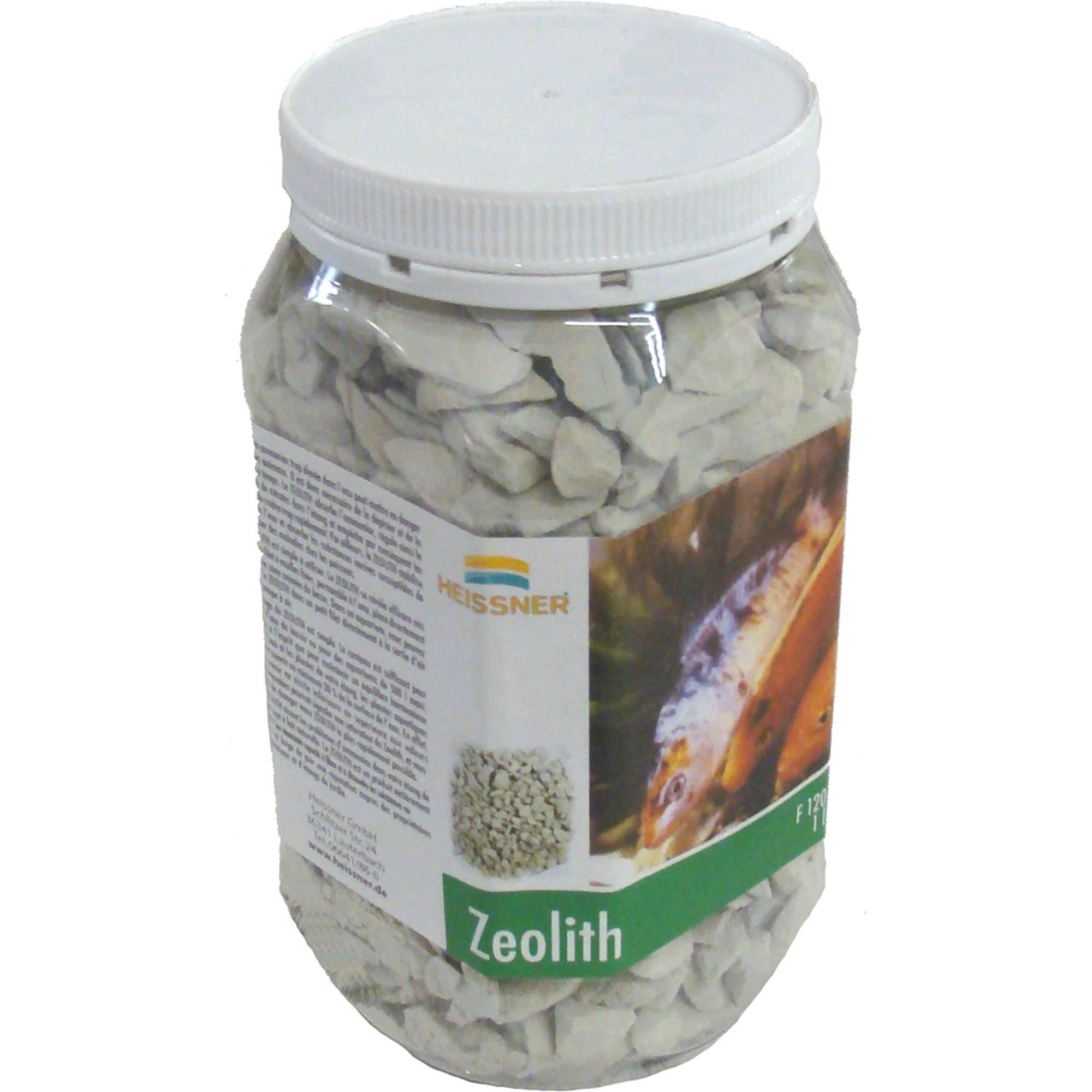 Zeolith 1kg ausreichend für 1000l Teichwasser gegen Algen von Heissner