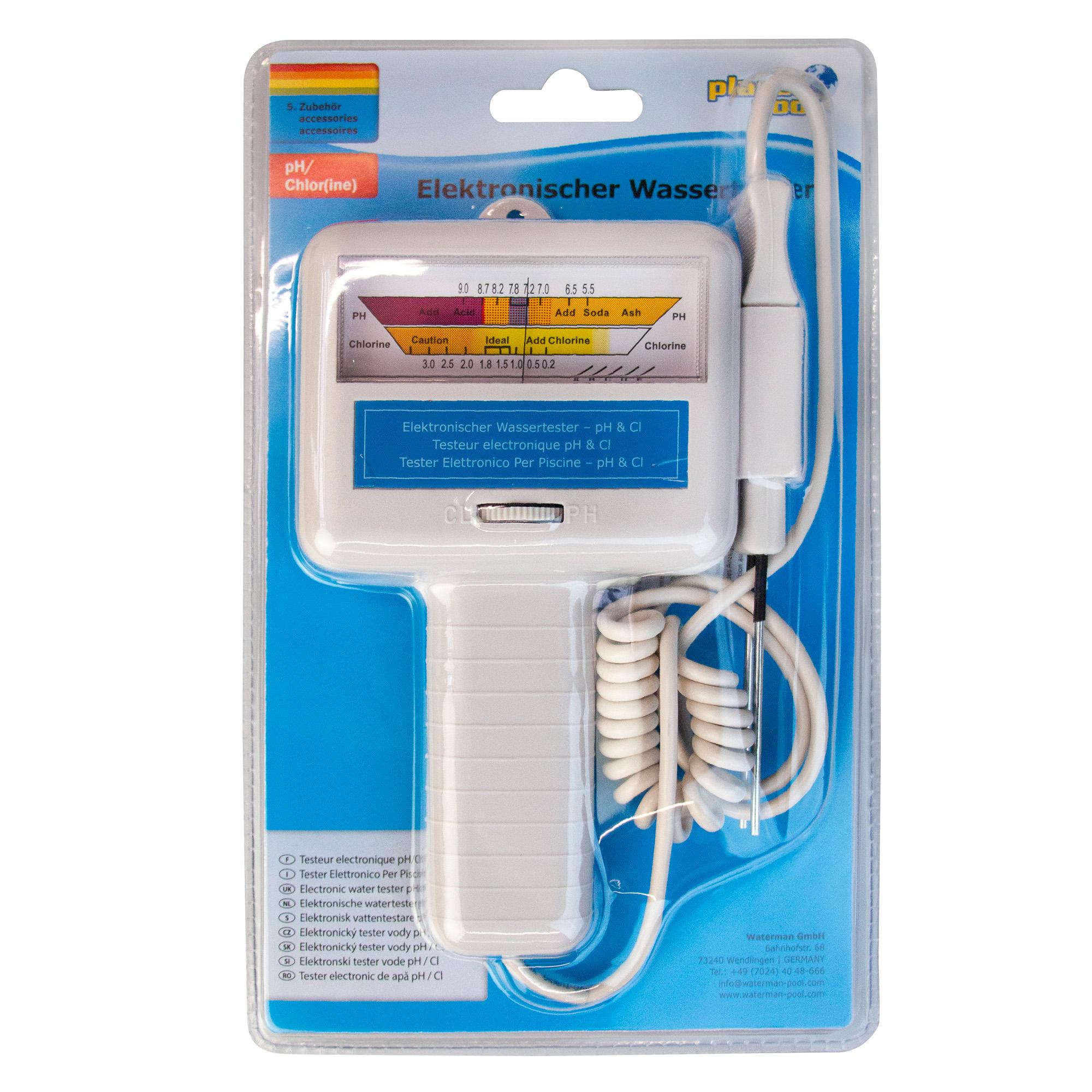PLANET POOL Elektronischer Wassertester pH /Chlor
