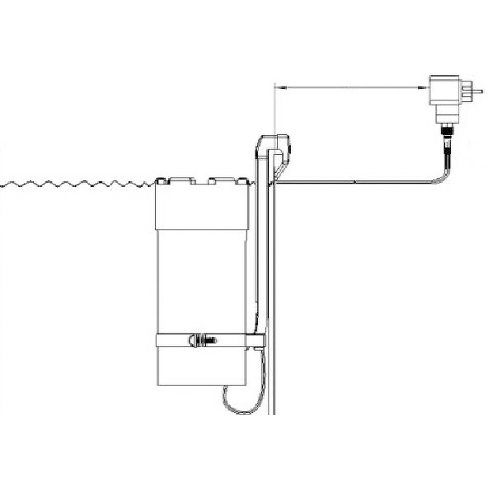 PLANET POOL Rundbecken-Set Anthrazit 450x90cm, 3 teilig