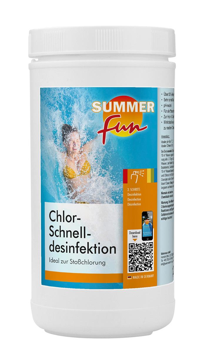 Chlor - Schnelldesinfektion 1,2 kg