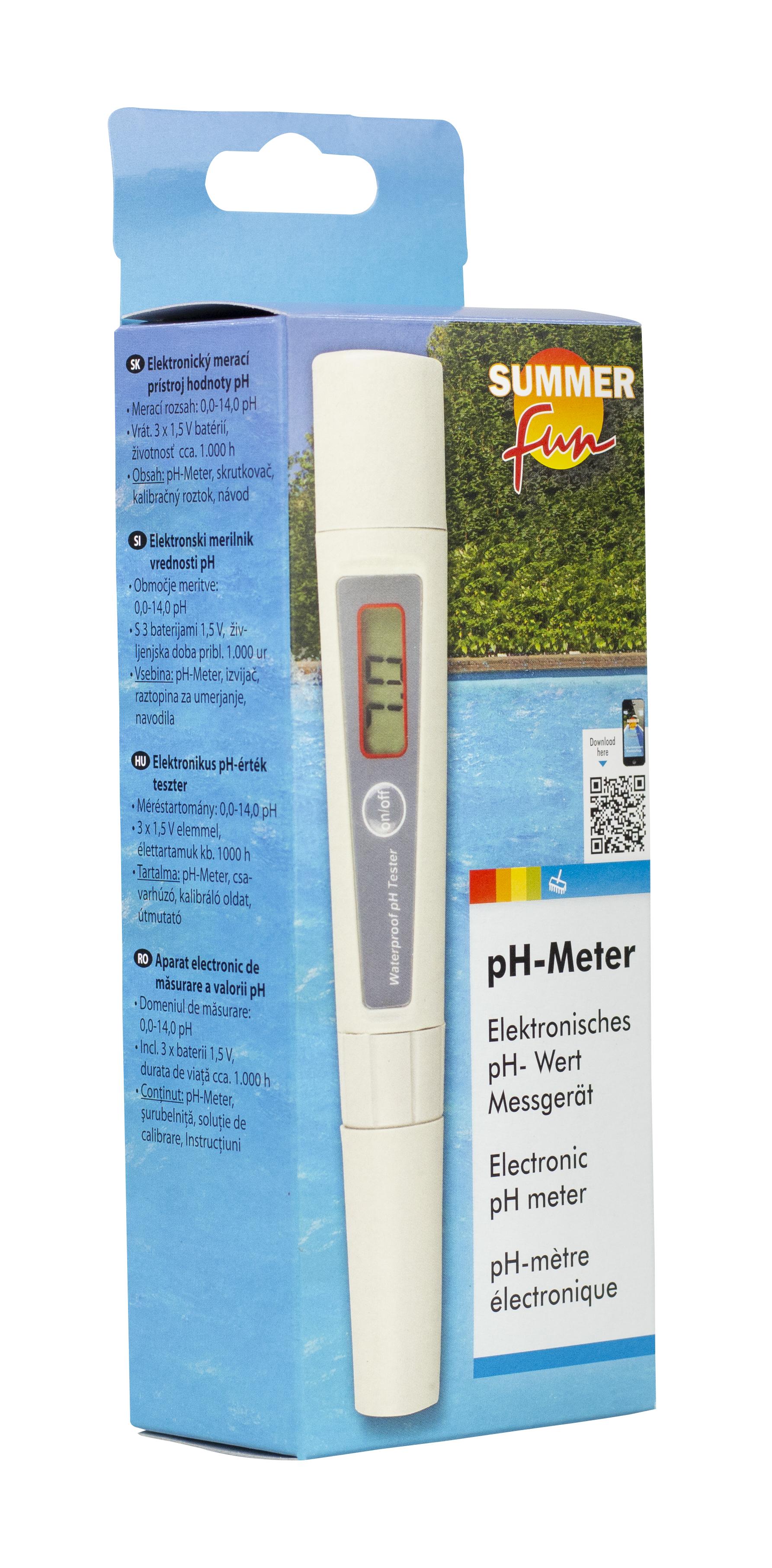 elektronischer pH Wert-Tester, pH Meter, Summer Fun