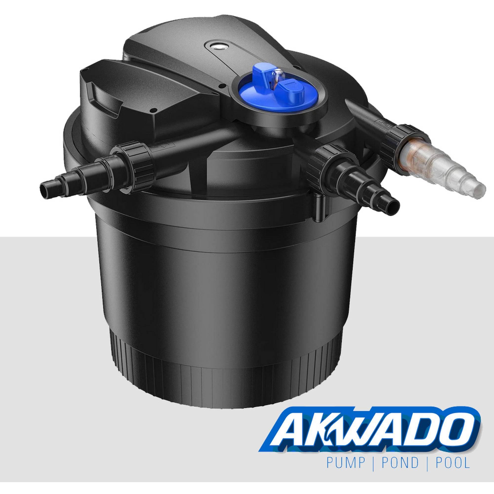 AKWADO Teichdruckfilter Automatic