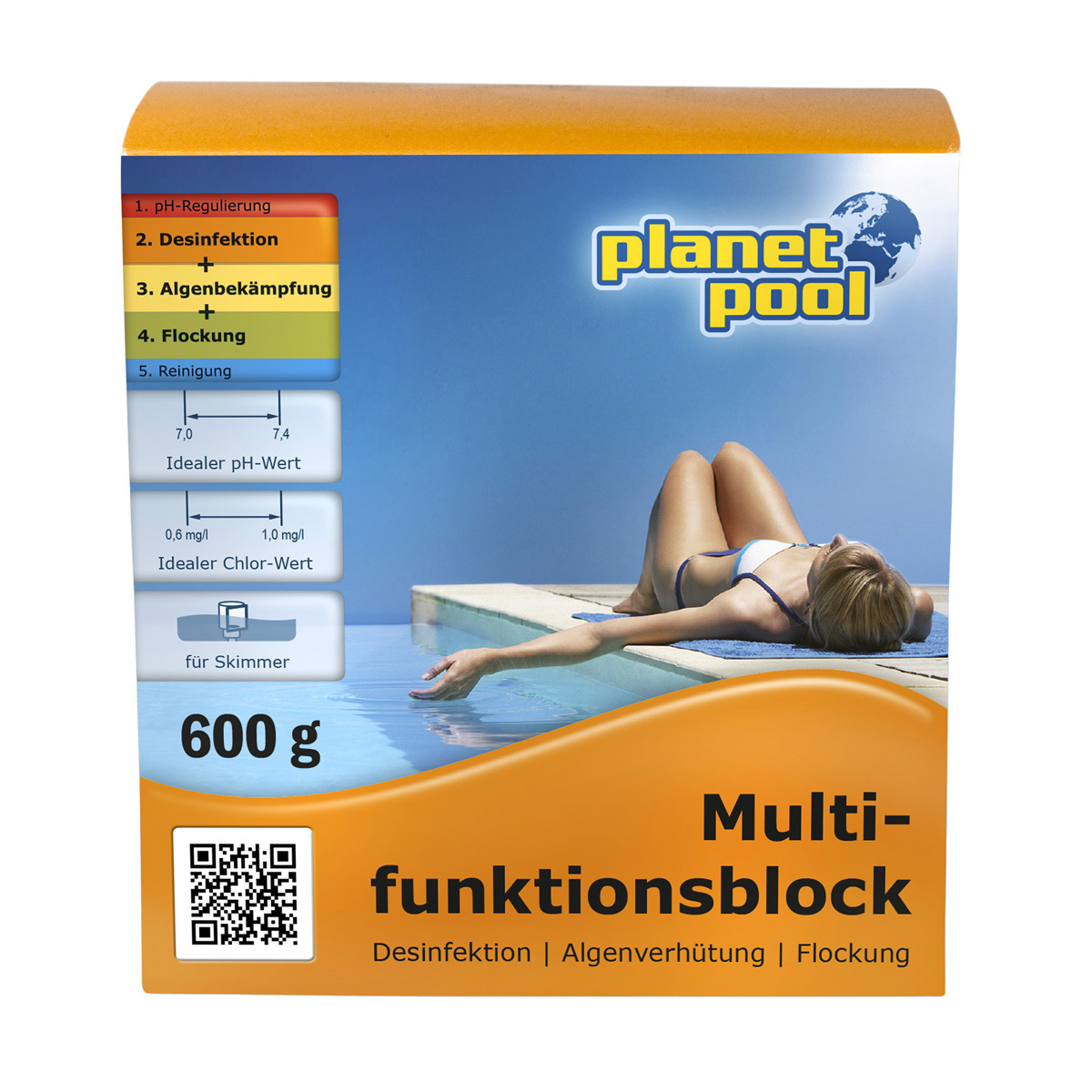 PLANET POOL Multifunktionsblock 600g