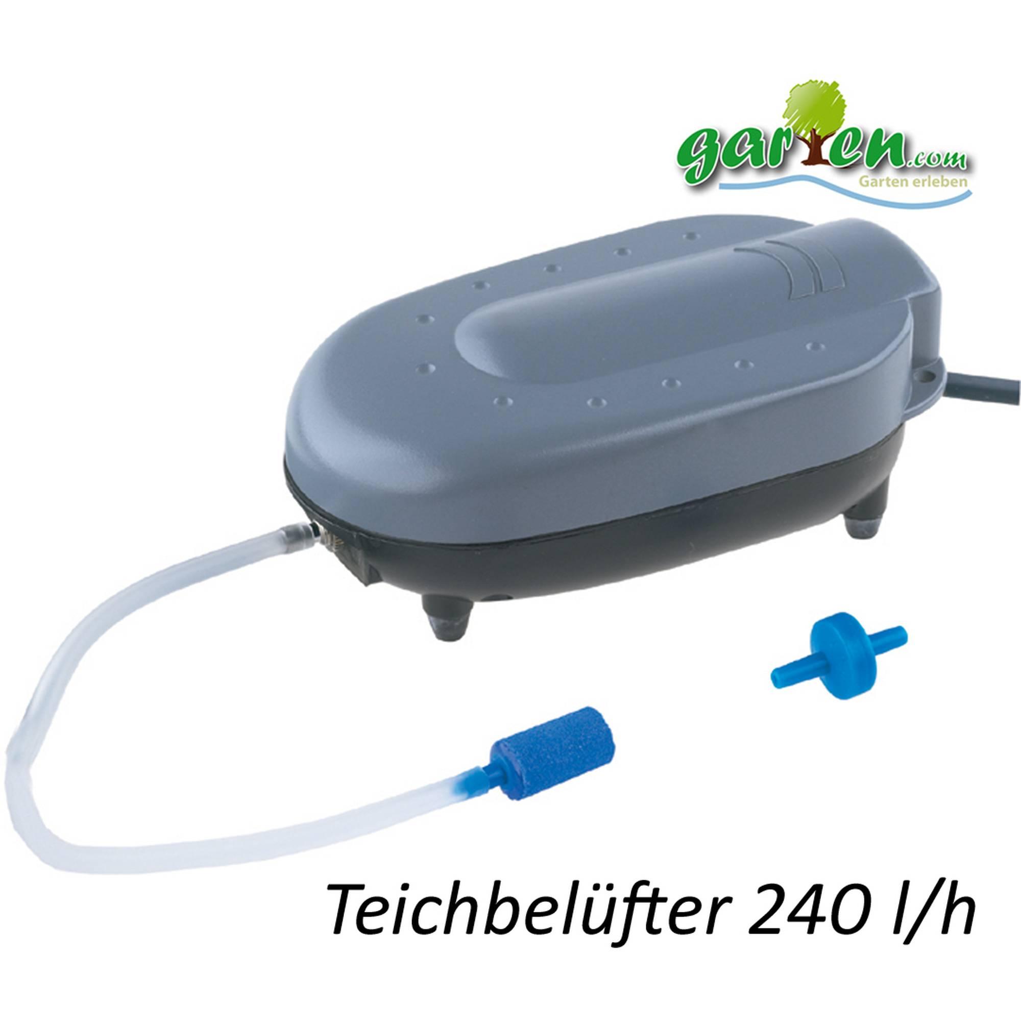 Teichbelüfter Belüfter-Pumpe Outdoor von Heissner