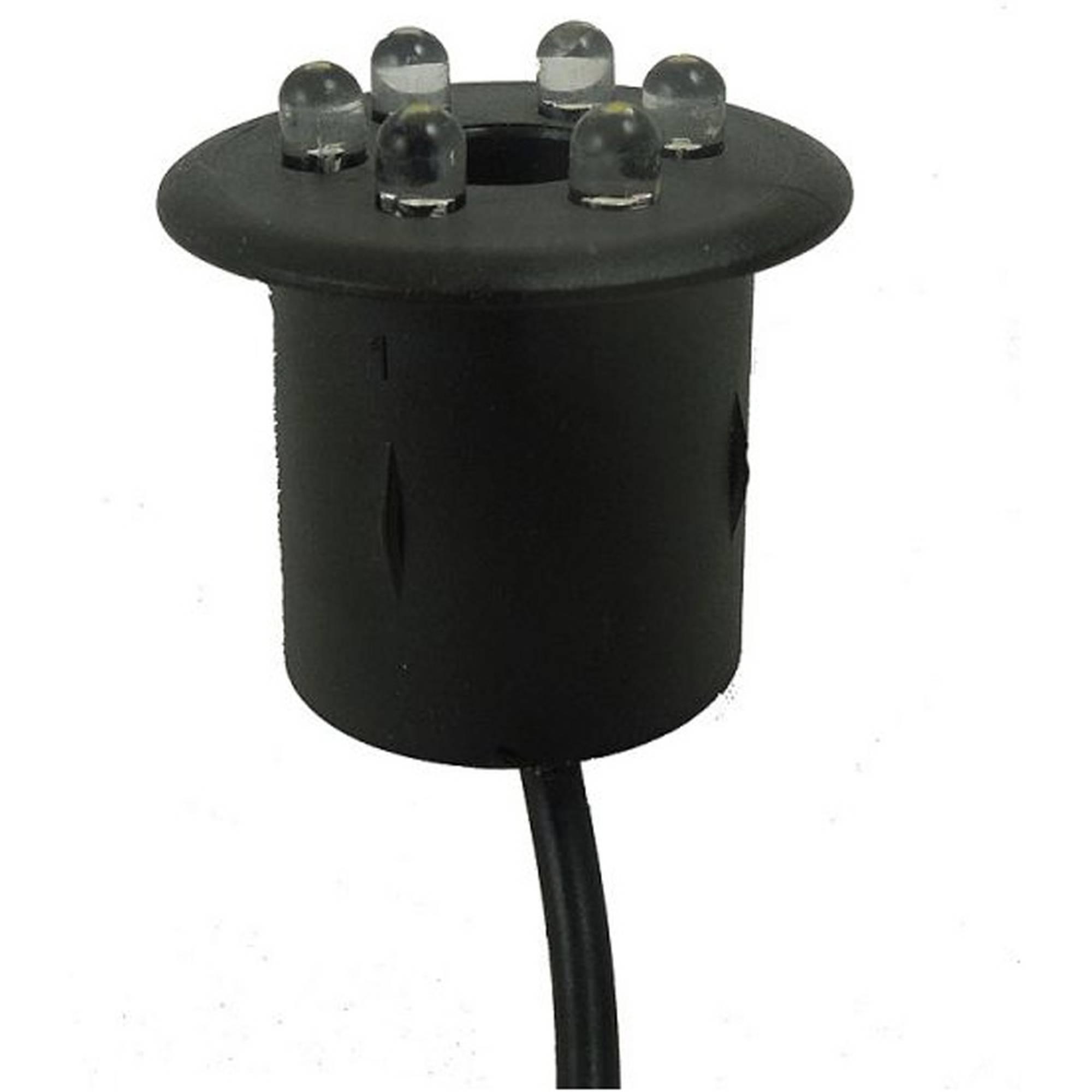 LED-Lampe warm weiß mit breitem Rand