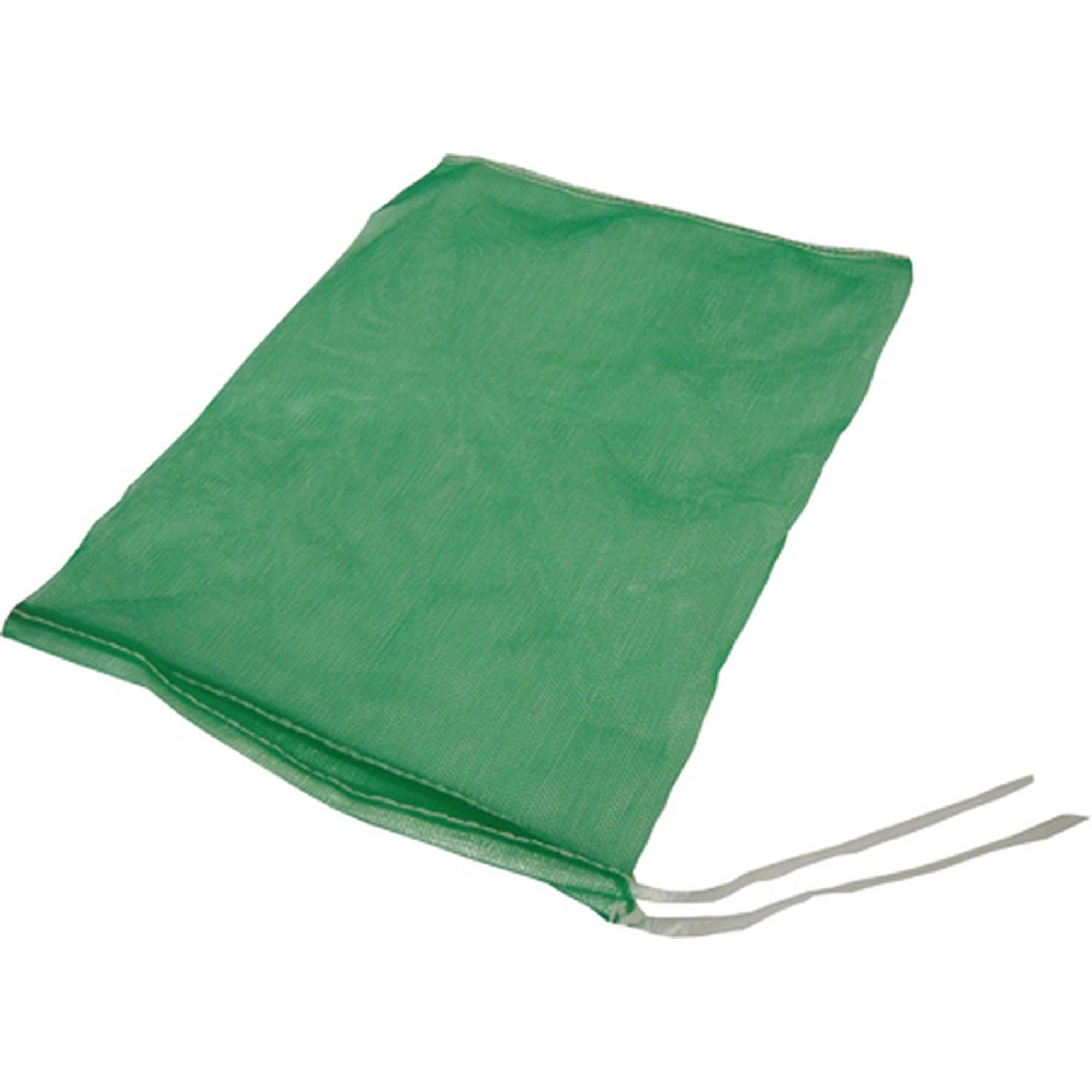 Netz, ca. 27x25 cm, grün, mit Schnur