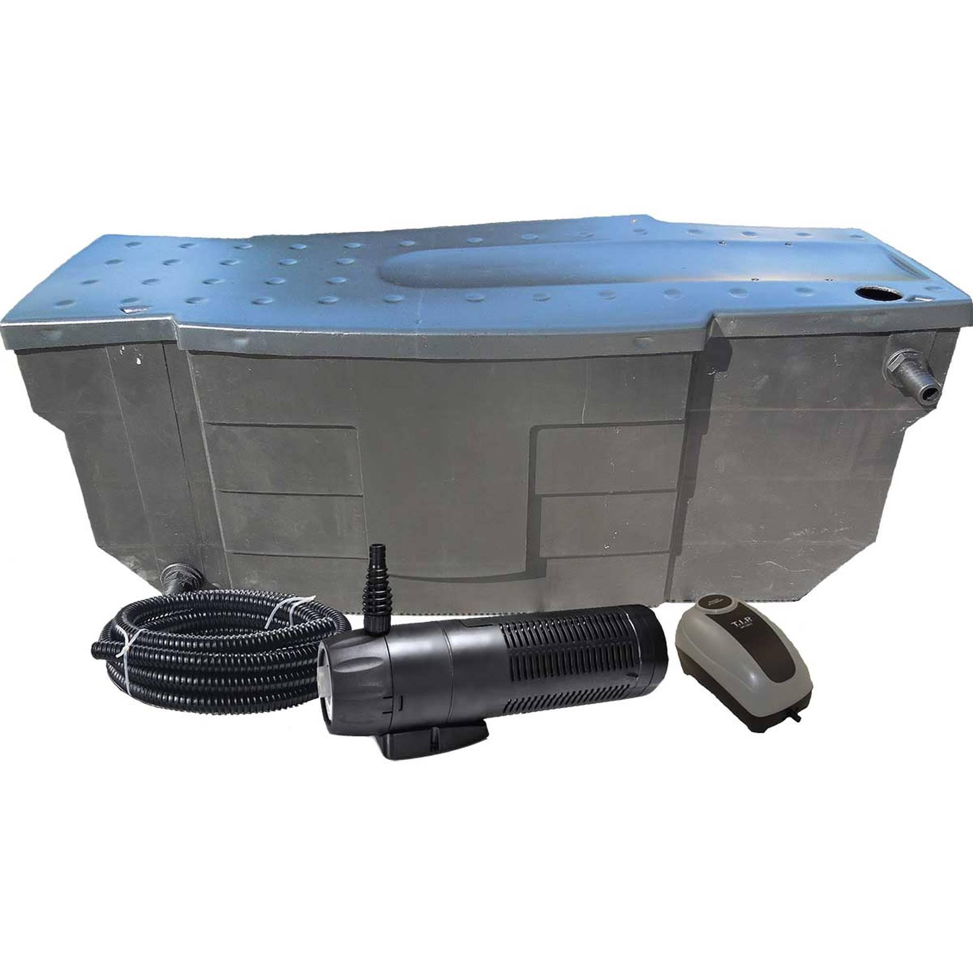 AKWADO Teichfilter-Set mit Pumpe und UVC - 8000L