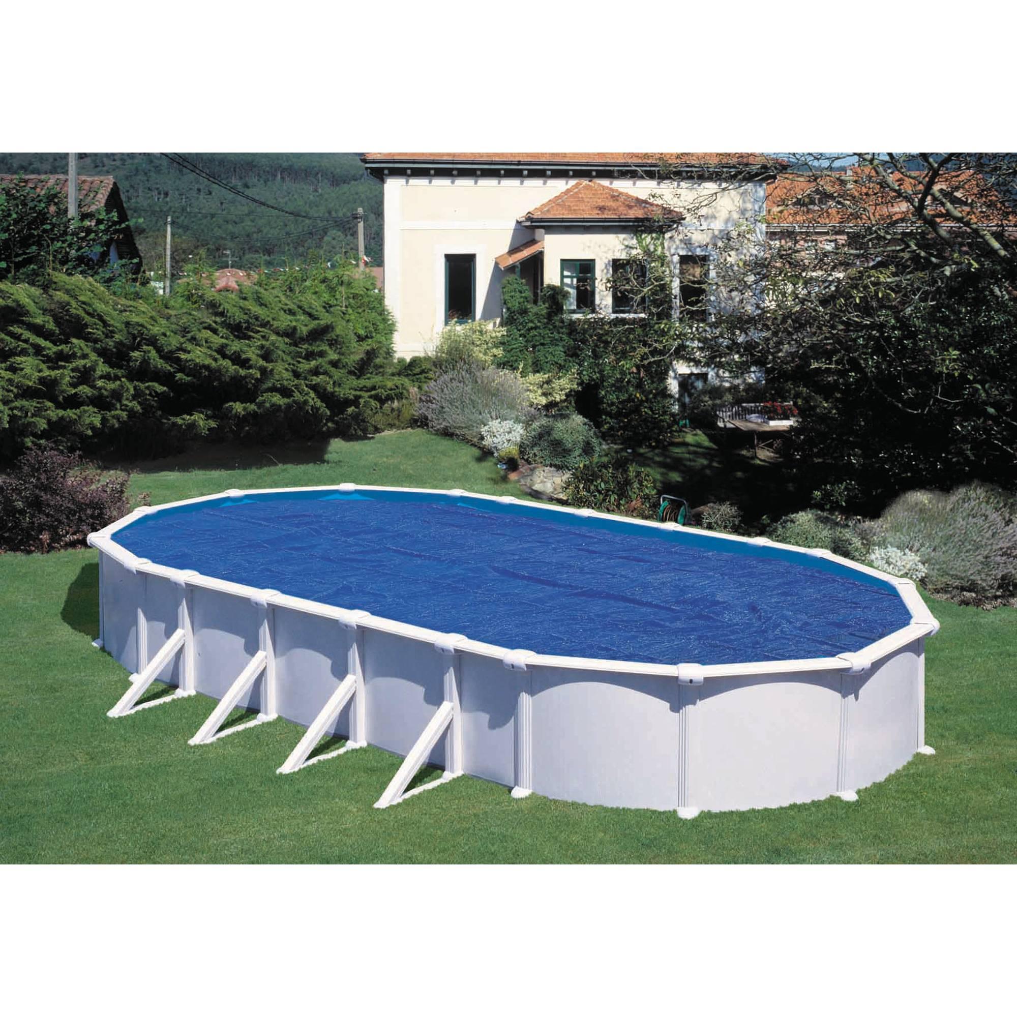 Extra-Solar-Abdeckung oval für Becken 700x350 cm, 230µ