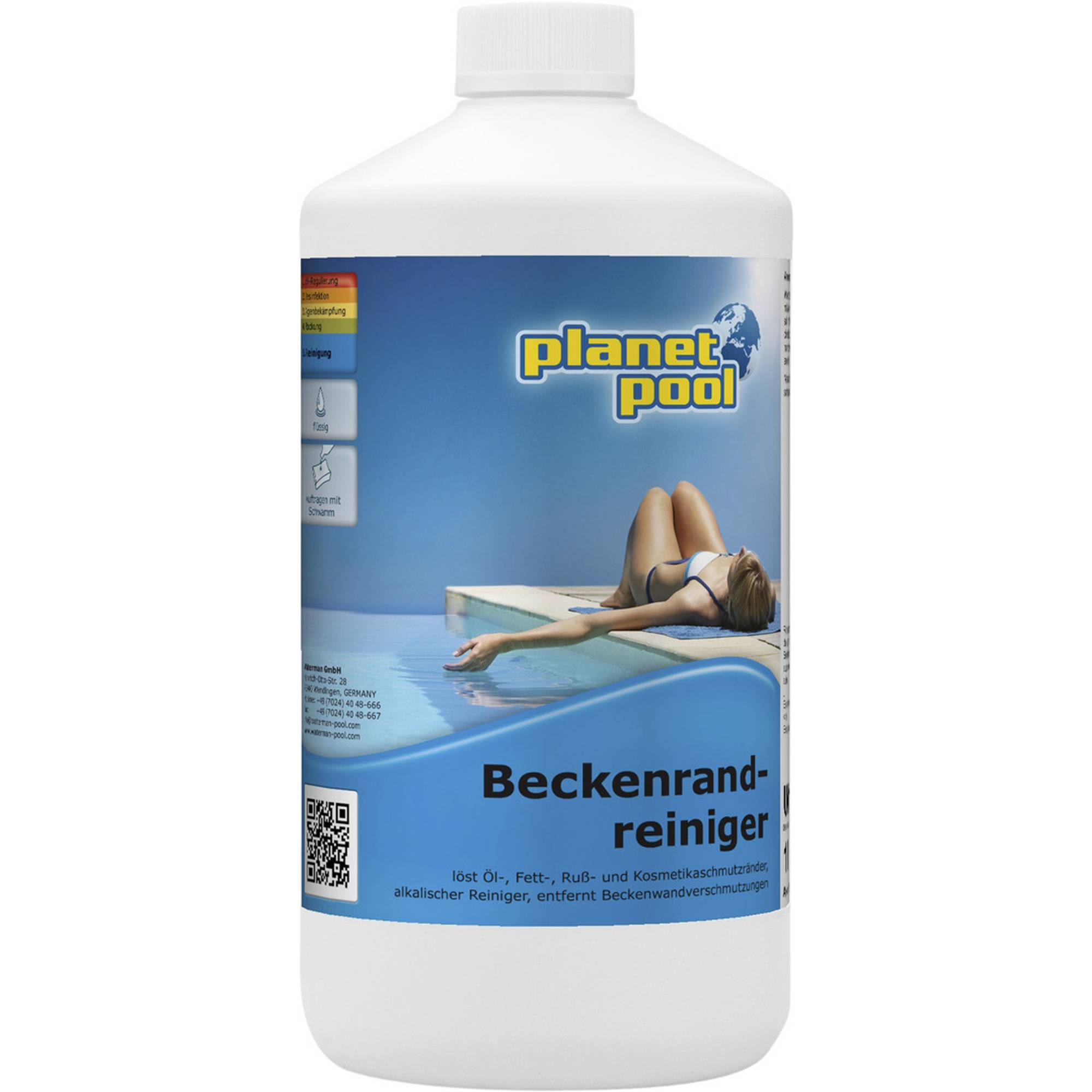 PLANET POOL Beckenrandreiniger 1 Liter