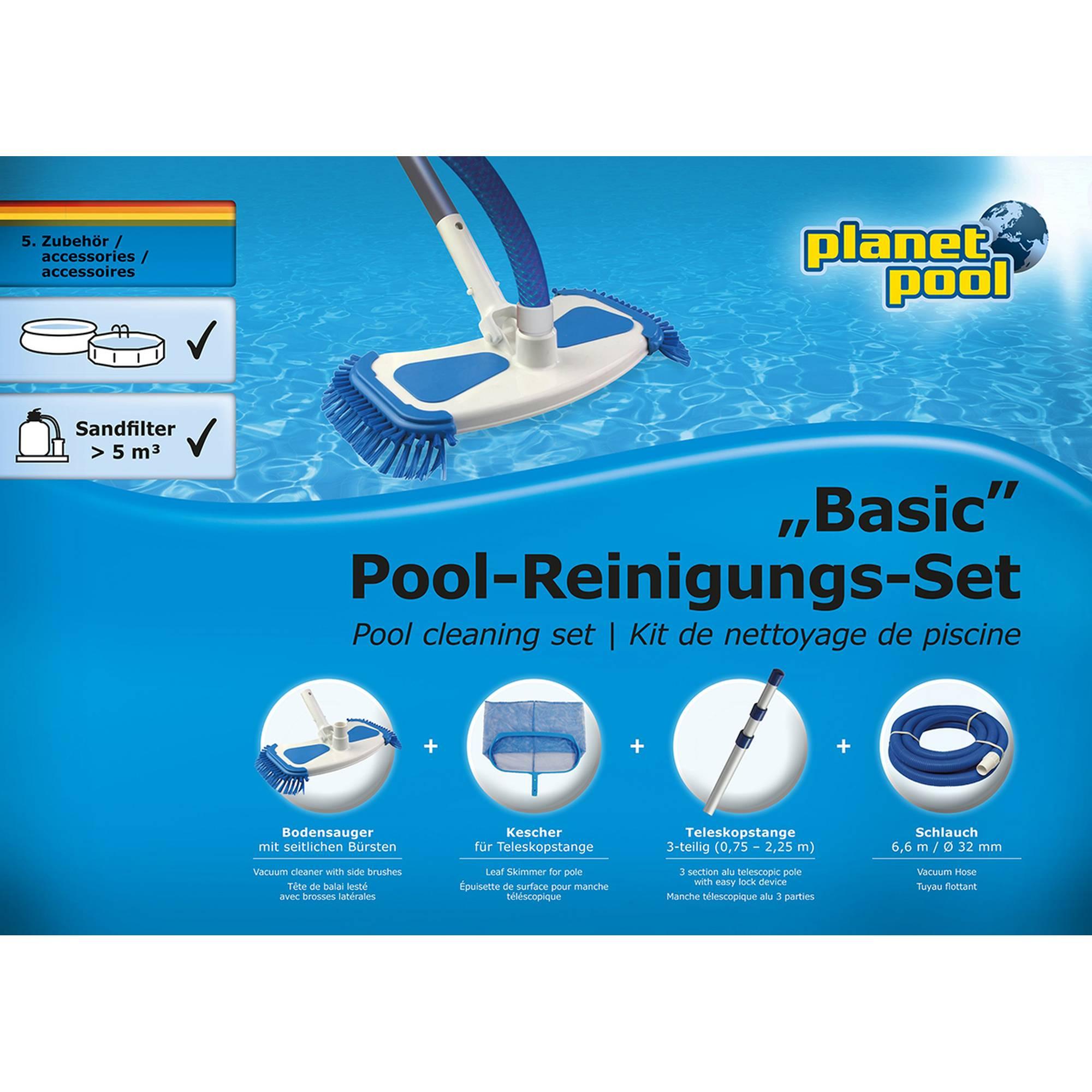 PLANET POOL Pool-Reinigungsset groß